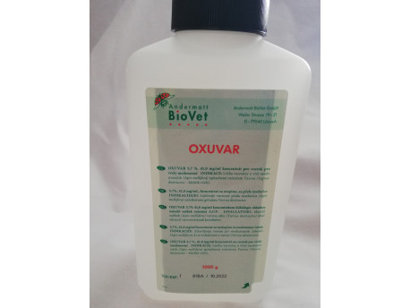 Oxuvar 5,7%, 41,0mg/ml, 2l fľaša s 1kg roztokom