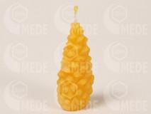 Sviečka šiška z včelieho vosku