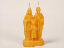 Sviečka rodina z včelieho vosku