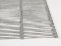 Mriežka pod peľochyt kovová 330x360