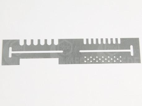 Kombinált kijárószűkítő /sz: 7/ 21x4cm