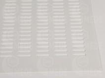 Materská mriežka plast - biela 400x400