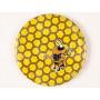 Viečko žlté+silná včela 82mm plechové
