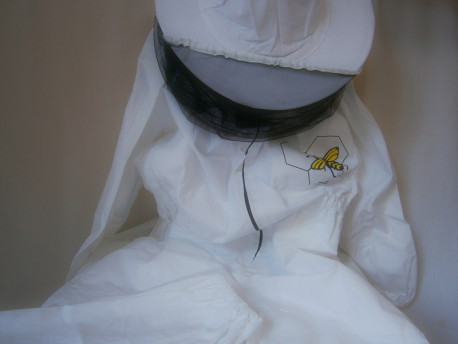 Méhészoverál kalappal 62-es