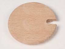Viečko drevené na med 8,5cm