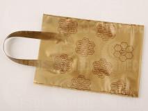 Darčeková taška na 0,5 kg medu zlatá