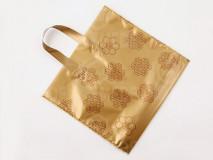 Darčeková taška na 2 x 1 kg medu zlatá 25ks