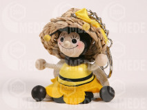 Kľúčenka - včela dievča