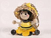 Kulcstartó méhecske lány