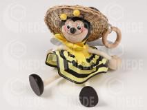 Včela dievča na pružine