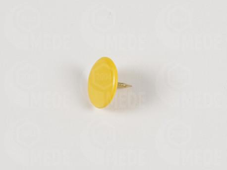 Pripináček na značenie úľa farbou matky - žltý 50ks