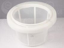 Mézszűrő, magas ø 27,5cm műanyag edényhez, karimával