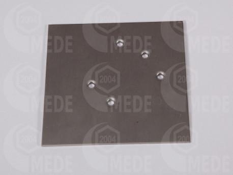 Šablóna na montáž kovového výklzu