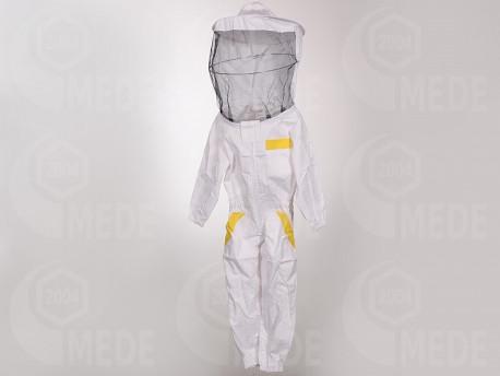 Méhészoverál kalappal 122/128 gyerek
