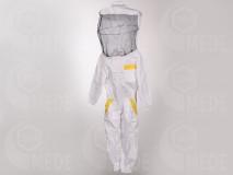 Včelárska kombinéza s klobúkom 134/140 detská