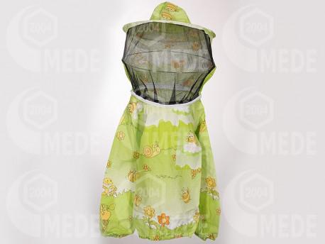 Včelárska bunda s klobúkom detská 140/146
