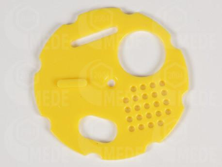 Kruhový uzáver 80 žltý