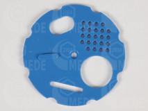 Kruhový uzáver 80 modrý