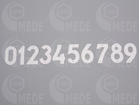 Číslice na úľ plast 31-40