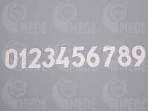 Číslice na úľ plast 11-20
