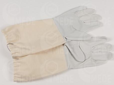 Včelárske rukavice bravčová koža č.7