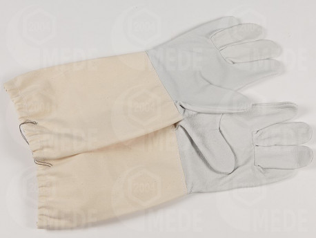 Včelárske rukavice bravčová koža č.12