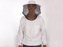 Méhészkabát kalappal,vékony XXL
