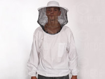 Méhészkabát kalappal,vékony S/M