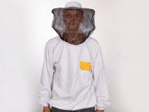 Méhészkabát kalappal, vastag S/M