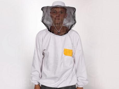 Včelárska bunda hrubá látka XXL