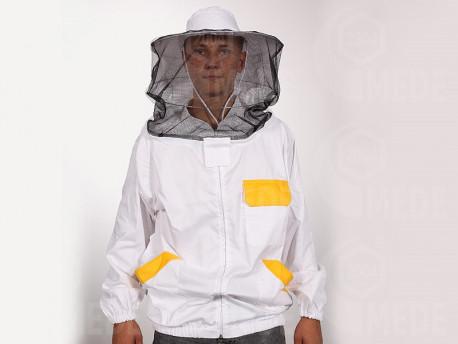 Včelárska bunda so zipsom XXL