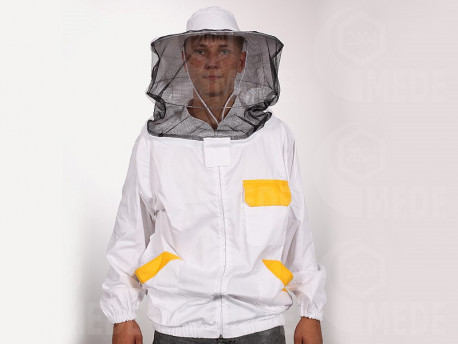 Včelárska bunda so zipsom S/M