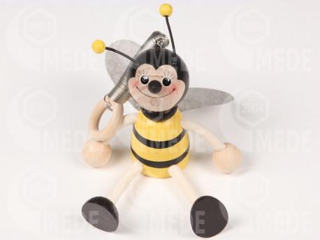 Včela chlapec na pružine