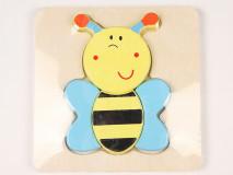 Puzzle méhecske 3D