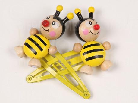 Sponky do vlasov včela 2 ks