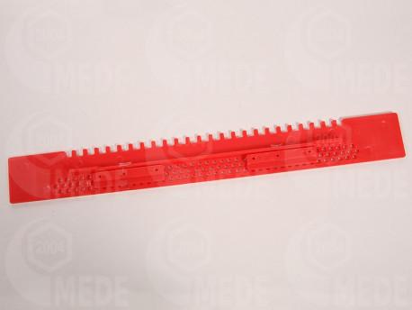 Műanyag kijárószűkitő, 43cm, piros