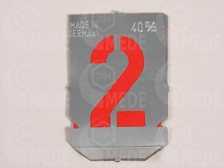 Číslice šablóna 0-9