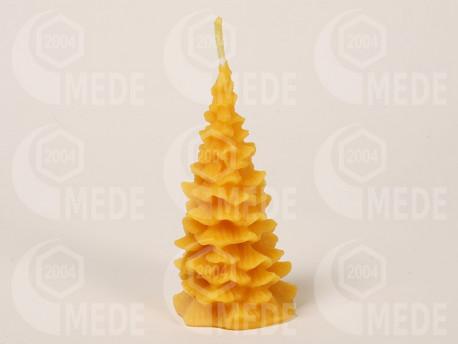 Sviečka stromček z včelieho vosku