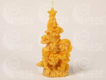 Sviečka stromček s deťmi z včelieho vosku