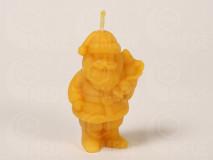 Sviečka Mikuláš z včelieho vosku