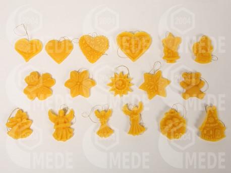 Ozdoba závesná z včelieho vosku