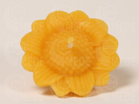 Sviečka slnečnica z včelieho vosku