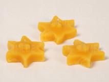 Plávajúce sviečky hviezdičky z včelieho vosku