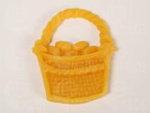Veľkonočný košík z včelieho vosku