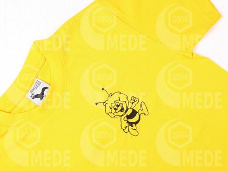 Tričko žlté detské 8