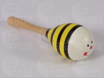 Tekvica hrkálka - včela