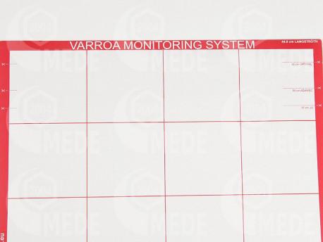 Varroa megfigyelő alátét
