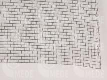 Drótszövet inox 3,15 x 3,15mm/ 0,5mm vastag