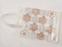 Darčeková taška na 0,5 medu biela 25ks