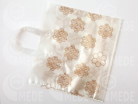 Darčeková taška na 2 x 0,5kg medu biela